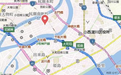 【地図】エクセルクラークAⅠ