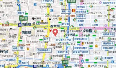 【地図】JUNWAマンション