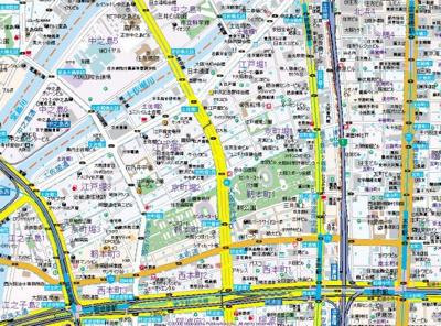 【地図】ジュネーゼ京町堀パークサイド