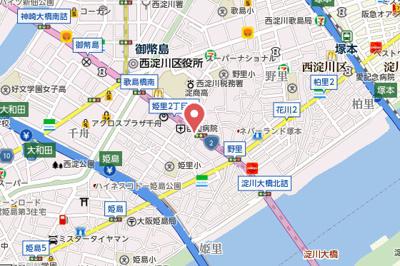 【地図】ヴァンスタージュ姫里