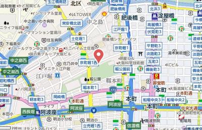 【地図】グラン・セレブ本町