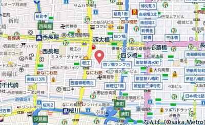 【地図】Varoque北堀江