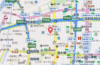 【地図】ルクレ立売堀