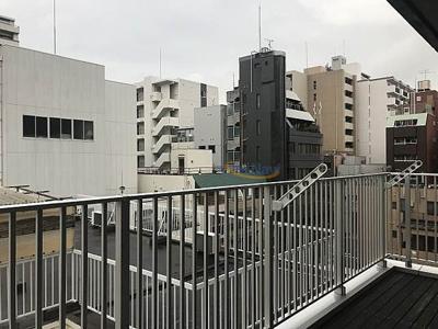 【バルコニー】パークヴィレッジ南堀江