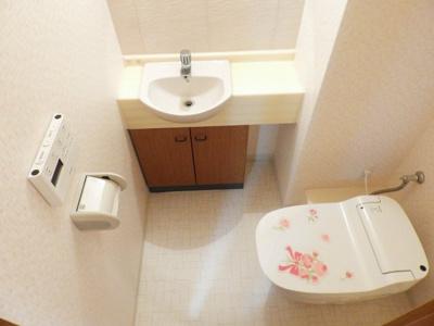 【トイレ】イトーピア長堀橋シエル・クレール