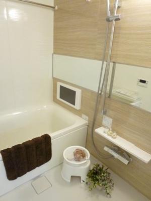 【浴室】プレジオ十三