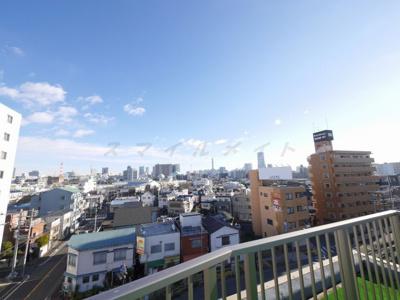 屋上からの眺めです。
