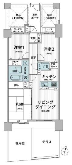 間取図:三郷新築ナビで検索