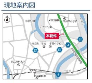 案内図:三郷新築ナビで検索