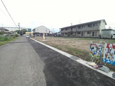 6月27日撮影 前面道路を含む現地写真