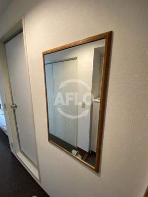 オアーゼ扇町 鏡