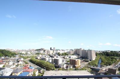 バルコニーからの眺望は最高です!