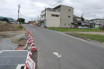 【前面道路含む現地写真】売土地 いわき市小川町高萩