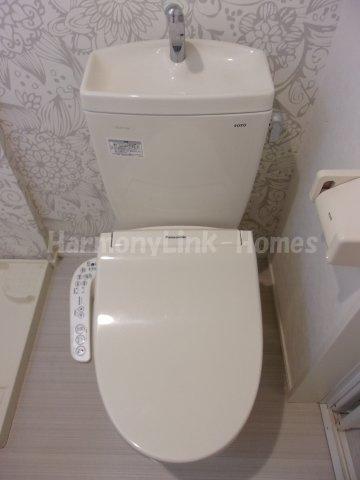 Casa Azul 王子栄町の落ち着いた色調のトイレです☆