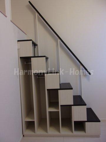 Casa Azul 王子栄町の収納付き階段☆