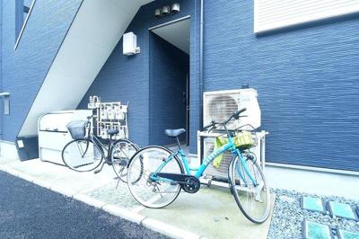 Casa Azul 王子栄町の駐輪スペース☆