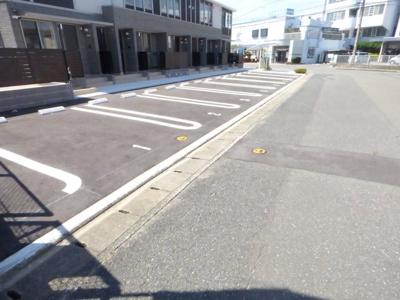 【駐車場】グレースヤナセⅡ