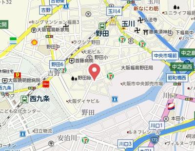 【地図】ロフティー野田