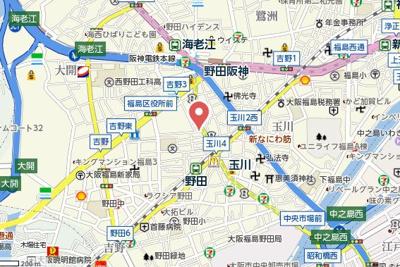 【地図】ロジュマン松原