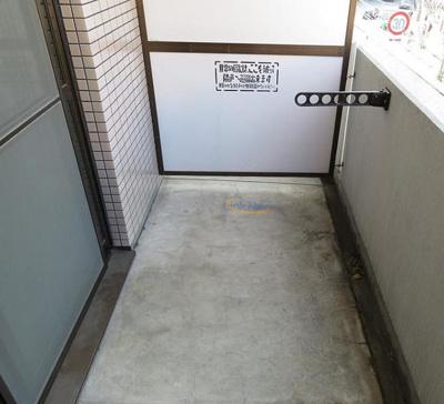 【バルコニー】阪神ハイグレードマンション12番館