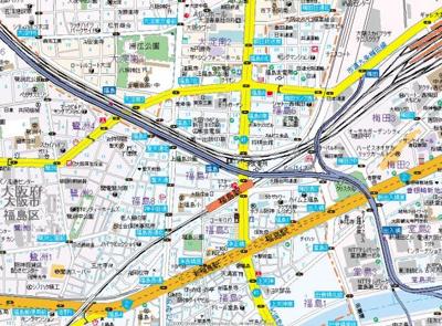 【地図】阪神ハイグレードマンション鷺洲