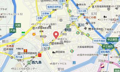 【地図】シャンテ野田
