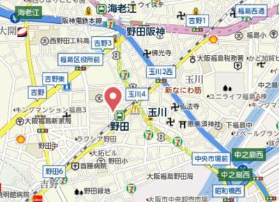 【地図】C&Aレジデンス