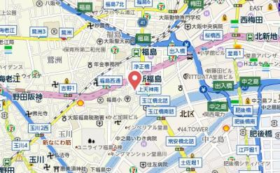 【地図】カーサウエダ