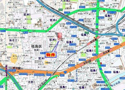 【地図】OPENDOOR・FUKUSHIMA
