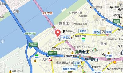 【地図】エスリード福島シティグランツ