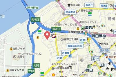 【地図】ウィルマンション