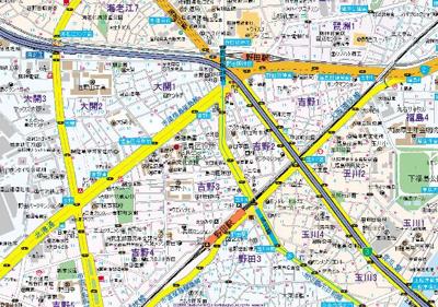 【地図】アルグラッド野田駅前