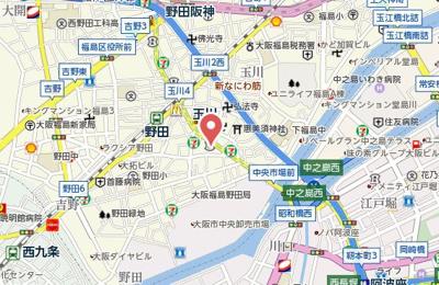 【地図】アドマスタワー福島野田