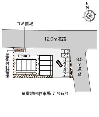【駐車場】ばうレジデンス湘南