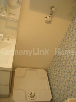 グランシャリオ京成高砂の室内洗濯機置き場