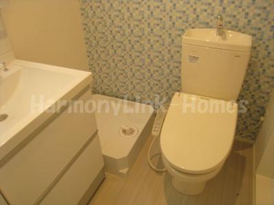 グランシャリオ京成高砂のゆったりとした空間のトイレです☆
