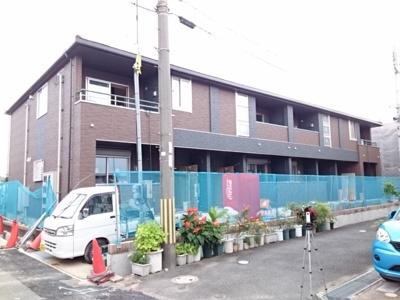 【外観パース】ラ・フェリーチェⅡ