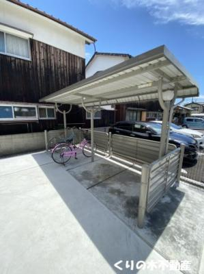 駐輪場もあります