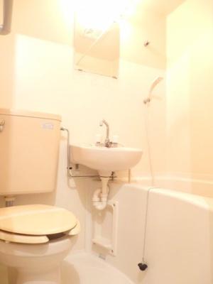 【浴室】ホワイトローズ