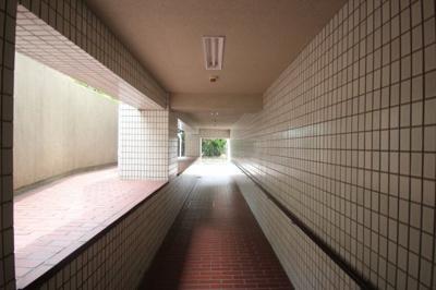 【ロビー】サンヴィラ六甲パート2