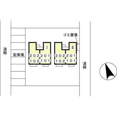 【地図】ツインヴィラⅡ