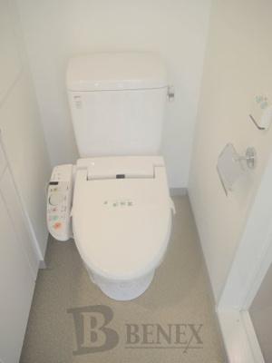 プラウドフラット新宿河田町のトイレです