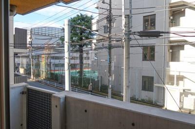 プラウドフラット新宿河田町の展望です