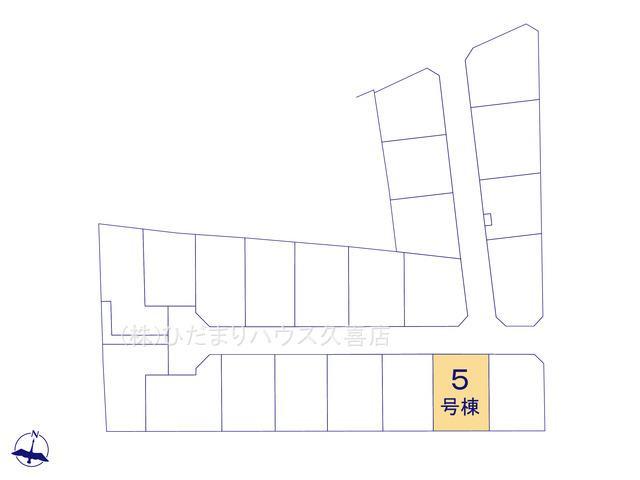 【区画図】古河市大堤 新築一戸建て 05 グラファーレ