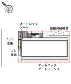 【区画図】蒔田