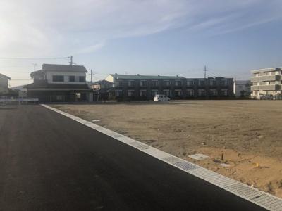 【前面道路含む現地写真】三木市別所町近藤開発団地 14~17号地