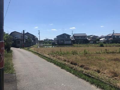 【前面道路含む現地写真】三木市別所町近藤開発団地 24号地