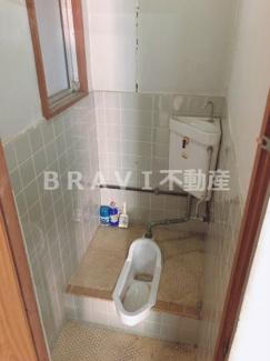 【パークハイツ】ゆったりとした空間のトイレです