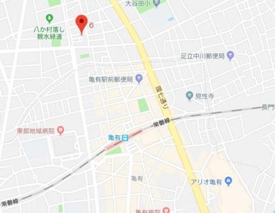 【地図】メゾン・ラフィネ亀有