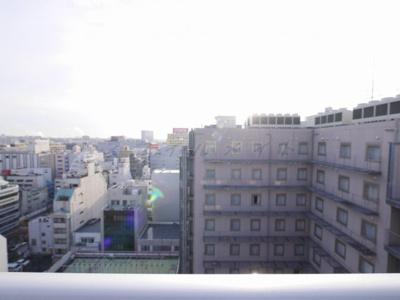 14階からの眺望です。